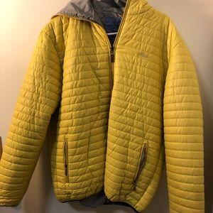Oversized Yellow Puff Jacket